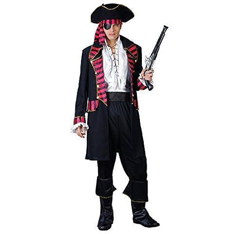 Costumes De Luxe Pour Homme Halloween - Adults Deluxe Pirate Captain Fancy Dress Up