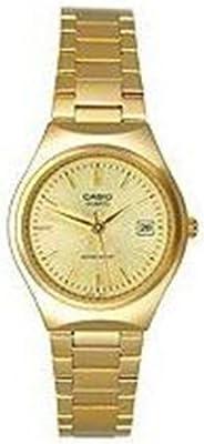Casio LTP-1170N-9A de cuarzo para mujer, correa de acero inoxidable color dorado
