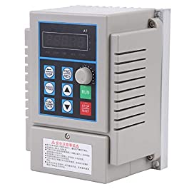 Azionamento A Frequenza Variabile, AC 220V 0.75KW Motore Inverter Vfd Monofase Regolatore Di Velocità Del Motore Per…