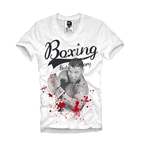 e1syndicate-v-neck-t-shirt-mike-tyson-boxing-guts-and-glory-boxen-s-xl