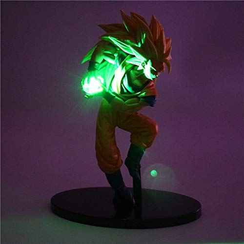 Dragon Ball Z Figuras De Acción Noche Luz Son Goku Led Luz Diy Anime Modelo Lámpara De Mesa Anime Dragon Ball Super Saiyan Toys Lámpara