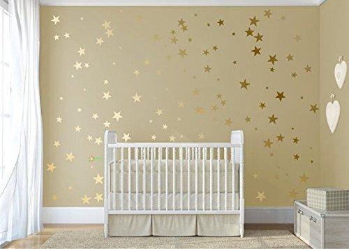 120-gold-metallic-stars-nursery-wall-stickers-gold-wall-decals-home-decor-vinyl-wall-art-wallpaper