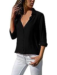 d184d345b54 Joyería Camisa Blanca Mujer es Amazon q75wBIx