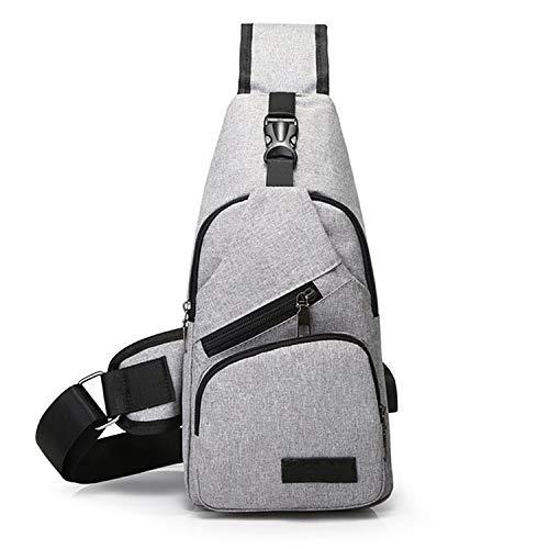 Messenger Bag Outdoor Kurzdistanz Reise USB Ladetasche Herren Umhängetasche Bergsteigen 2 Einheitsgröße