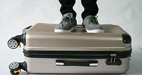 Xiuxiandianju 20 pollici 24 pollici 28 pollici ruota universale leva viaggio impermeabile ABS valigia bagaglio di viaggio SuitcaseColour & formato differente days blue