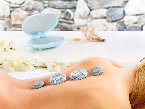 KIT MASSAGGIO CON PIETRE HOT STONE. Il relax meraviglioso della tradizione hawaiana nel massaggio con le pietre laviche...