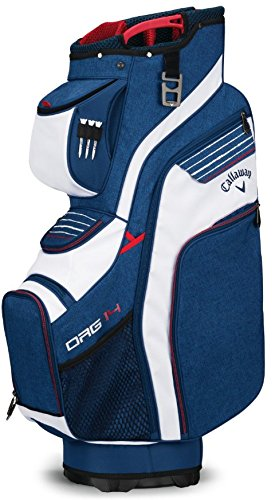 Callaway ORG 14 Sac chariot Taille unique Bleu marine/blanc/rouge