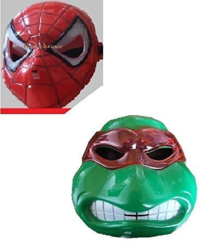 Stück neue Ninja Turtle und neue Spiderman Maske -