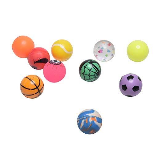 7thLake 10 stücke Bunte 27mm Bouncy Jet Balls Kinder Spielzeug für Pinata Beute Party Tasche Füllstoffe