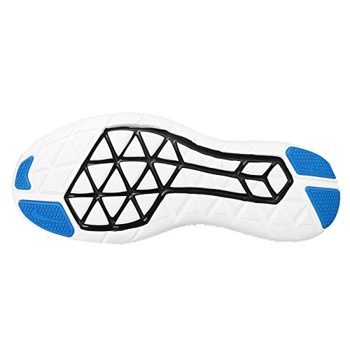 Nike Herren Flex 2016Rn Laufschuhe, Grün, UK Azul (Pht Blue / Mtllc Slvr-Blk-White)