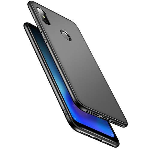 "LAYJOY Funda Xiaomi Redmi Note 6 Pro, Ligera Carcasa Silicona Suave TPU Gel Bumper Case de Protectora [Antideslizante] [Anti-Golpes] Cover Caso para Xiaomi Redmi Note 6 Pro (2018) 6.26"" -Negro"