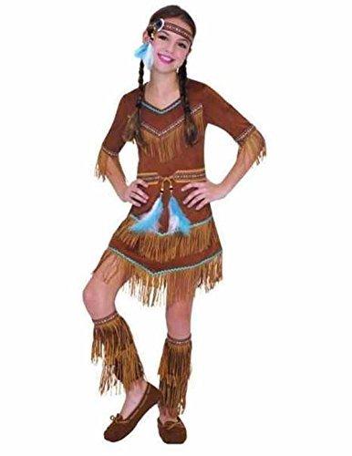 enfant-indien-rouge-costume-fille-SQUAW-Attrapeur-De-Rves-Pocahontas-costume-dguisement