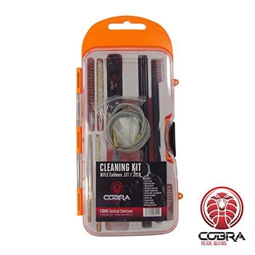 COBRA Tactical Solutions Gewehr Reinigungsset | Kaliber .177HMR / .22LR |Pistole & Revolver | 38 Teile