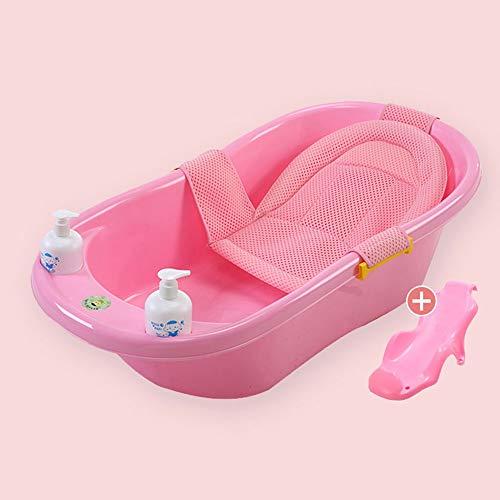 Sdzq Vasca da Bagno per Bambini Vasca per Bambini Vaschetta Reclinabile per Berlina Vasca da Bagno per Bambini (Color : Pink6)