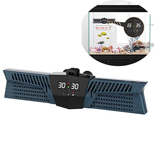 DJLOOKK Aquarium Heizung Doppel PTC Heizung LED Temperaturanzeige Aquarium Heizstab Integrierter Smart Chip DREI Heizmodus Aquarium Heizstab Für 300-1100L Fischbecken,Blue,800W