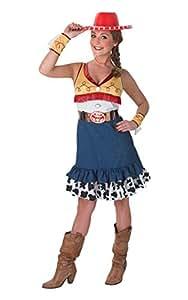 Rubie 's Offizielles Damen Jessie Kostüm Toy Story, Erwachsene Kostüm–Kleine