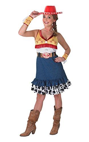 Damen Jessie Toy Story, Erwachsene Kostüm–Große (Toy Story Jessie Kostüm Erwachsene Uk)