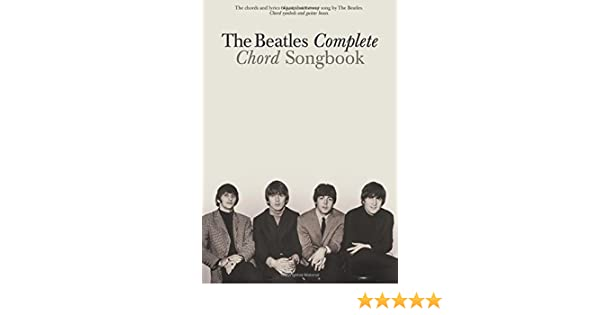 Buy The Beatles Complete Chord Songbook Book Online At Low Prices In