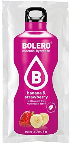 Bolero Drink - Banane&Erdbeere mit Stevia (12er Pack) -