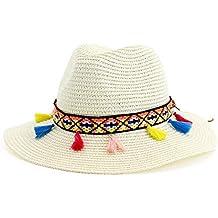 8a0011e514588 Sombrero de Paja Playa al Aire Libre Protector Solar Sombrilla Sombrero de  Jazz Sombrero de Copa