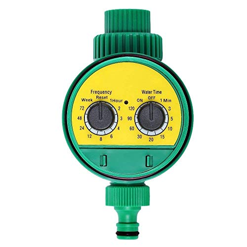 FUNXS Garten Elektronische Wasser Timer Magnetventil Bewässerung Sprinkler Controller, Wasserhahn Schlauch Timer Lassen Sie angeschlossene Bewässerungssystem
