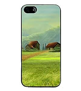 PrintVisa Beautiful House High Gloss Designer Back Case Cover for Apple iPhone 4S
