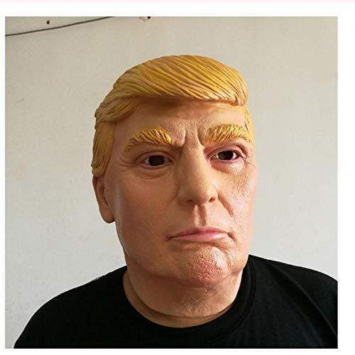 YAX Masken Lustige Realistische Latex Promi Donald Trump Putin Präsident Maske Halloween Ball Masken Party Kostüm Verkleiden - Promi Halloween Kostüm