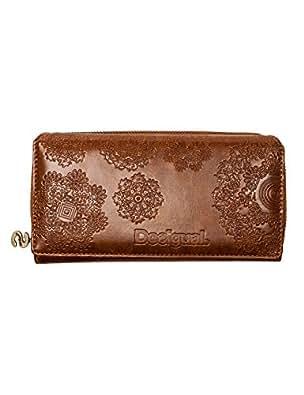 Desigual  MONE_MARIA NEOGRAB, Portemonnaies femme - Marron - Braun (MARRON 6000), 19x10x3 cm (B x H x T) EU
