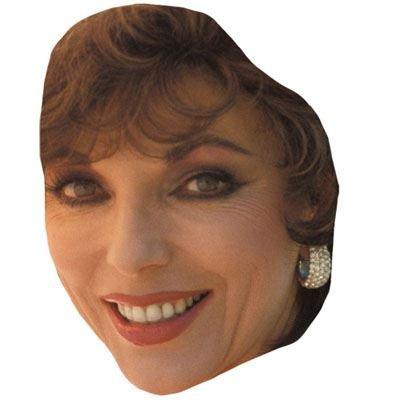 Celebrity Cutouts Joan Collins (2016) Maske aus Karton