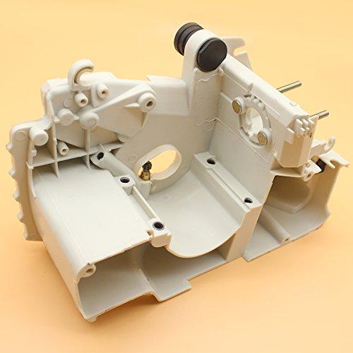 Kurbelgehäuse Kurbel Fall Motor Gehäuse W/Kettenspanner Adjuster für Stihl MS170MS180MS 170180017018Chainsaw Engine Parts
