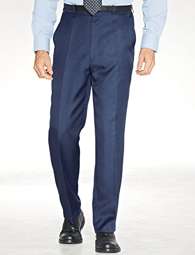 Mens Quality Formal Elasticated Trousers