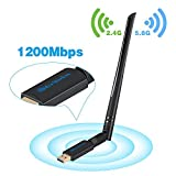 USB Wifi Adapter Antenna 1200Mbps Dual Band 2.4G/5G Mini Wi-fi ac Wireless Network