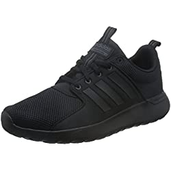 adidas Cloudfoam Lite Racer, Scarpe da Ginnastica Basse Uomo, Nero (Core Black/Core Black/Utility Black), 44 EU