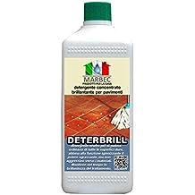Marbec - DETERBRILL 1LT | Detergente concentrato brillantante per pavimenti in cotto e pietra cerati