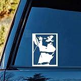 Stickers Voiture 11.2Cmx15Cm Autocollant De Voiture Freddie Mercury Queen Artiste de Musique Decal Pour Voiture Fenêtre Autocollant