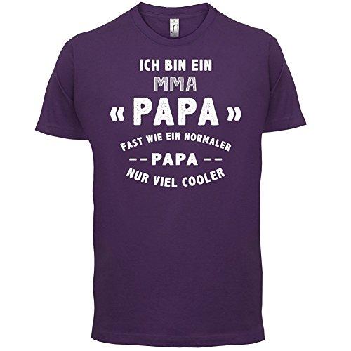 Ich bin ein MMA Papa - Herren T-Shirt - 13 Farben Lila