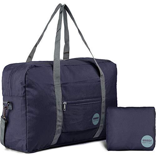 Wandf Leichter Faltbare Reise-Gepäck Handgepäck Duffel Taschen Übernachtung Taschen/Sporttasche für Reisen Sport Gym Urlaub Weekender handgepaeck
