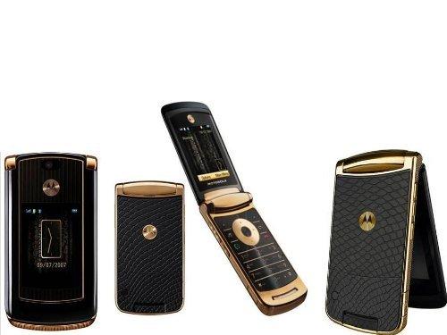 Motorola 2GB RAZR2V8Gold Luxus Quad-Band entsperrt GSM Handy - X Motorola Entsperrt Handy