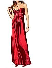 rot Laura Scott Evening Damen Abendkleid mit Schal