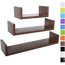 suchergebnis auf f r wandregal nussbaum. Black Bedroom Furniture Sets. Home Design Ideas