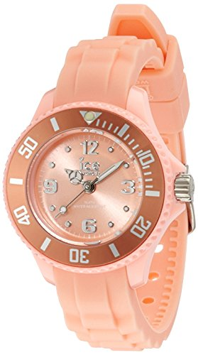 Ice Ice-Watch-Sweety Peach Mini Unisex Watch Analogue Quartz Strap Orange Dial Orange Silicone .S.14 SY.PH M.