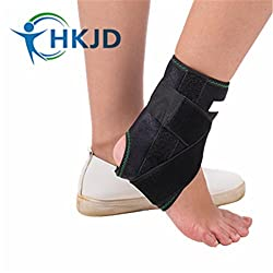 Generic M 22 to 24 cm : sports safety elastic ankle support banadge Super Strong Ankle Brace Support Sports Foot Stabilizer Pain Guard Strap Wrap Sprain