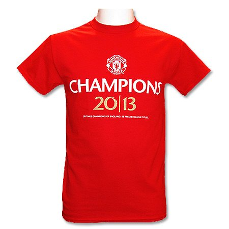 Manchester United F.C. Champions 2013 T-Shirt Mixte, Multicolore, 2 XL 51aa2729af4