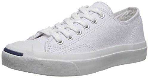 Converse Jck Pvrc Lea Ox, Scarpe da Ginnastica Unisex – Adulto Bianco (Blanco)