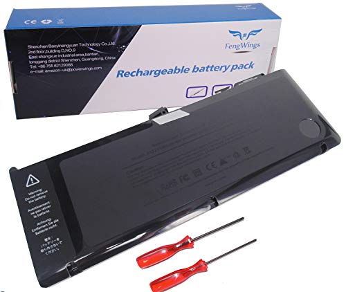 FengWings 10.95V 7200mAh 73Wh A1321 A1286 Laptop Akku kompatibel Mit Für Apple MacBook Pro 15