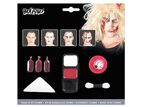 Maquillage Halloween Pour Les Filles - Kit de maquillage vampire zombie mort-vivants horribles