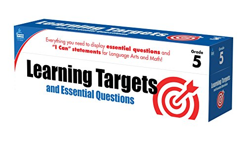 Learning Targets and Essential Questions, Grade 5 -