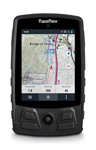 TwoNav Aventura Negro - GPS Full Connect de Mano