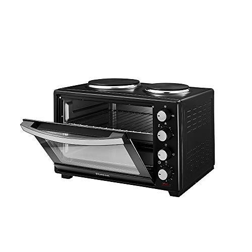 Anaelle Panana Mini Four Electrique de 30L avec 2 plaques de cuisson 1600W, Régulateur Température- Max. 230 °C, No