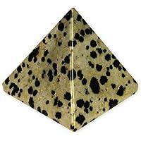 Dalmatiner Jaspis Pyramide–yjd4–Medium preisvergleich bei billige-tabletten.eu